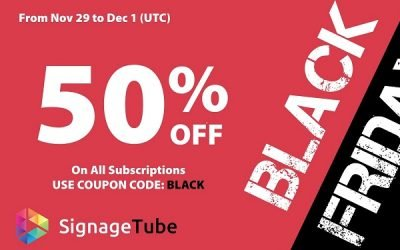 50% Black Friday Discount