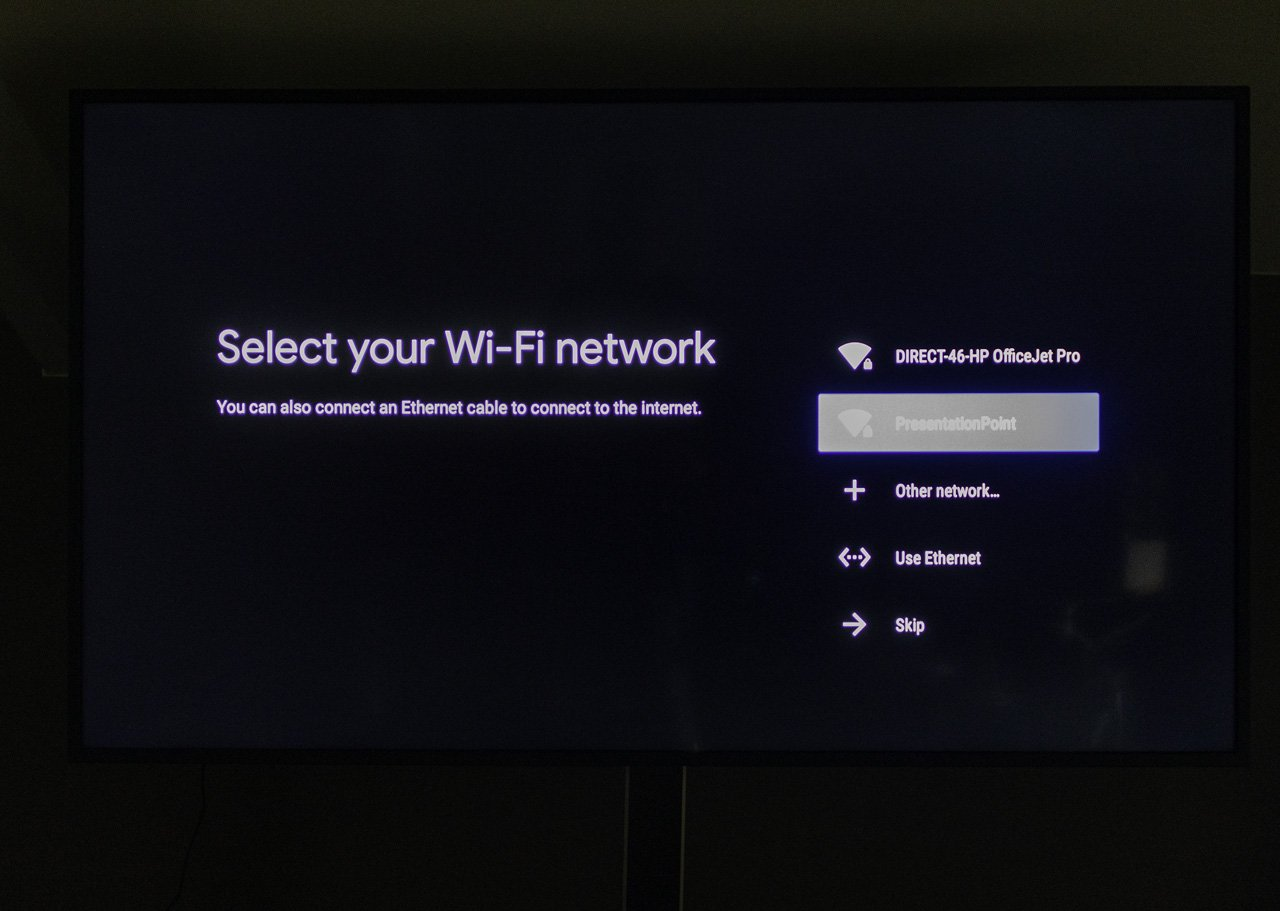 connect to internet and wifi