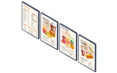 Setting Up a Digital Menu Display for your Restaurant