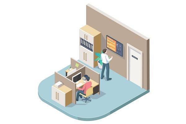 Digital Signage for Workplace Communication