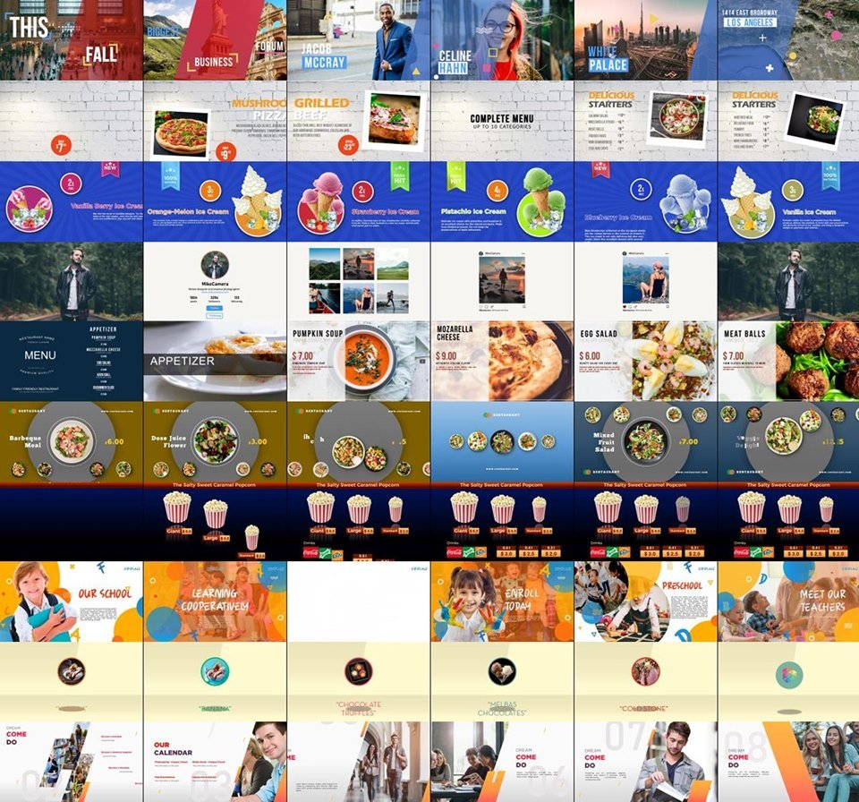 free digital signage screen samples for free digital signage