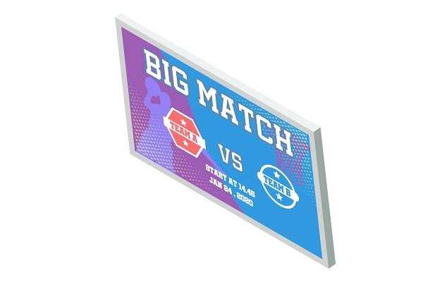 Digital Signage for Sports and Entertainment