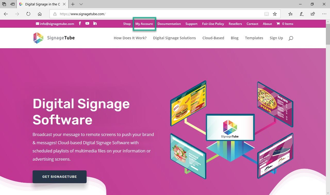 How To Use A Digital Signage Template Signagetube